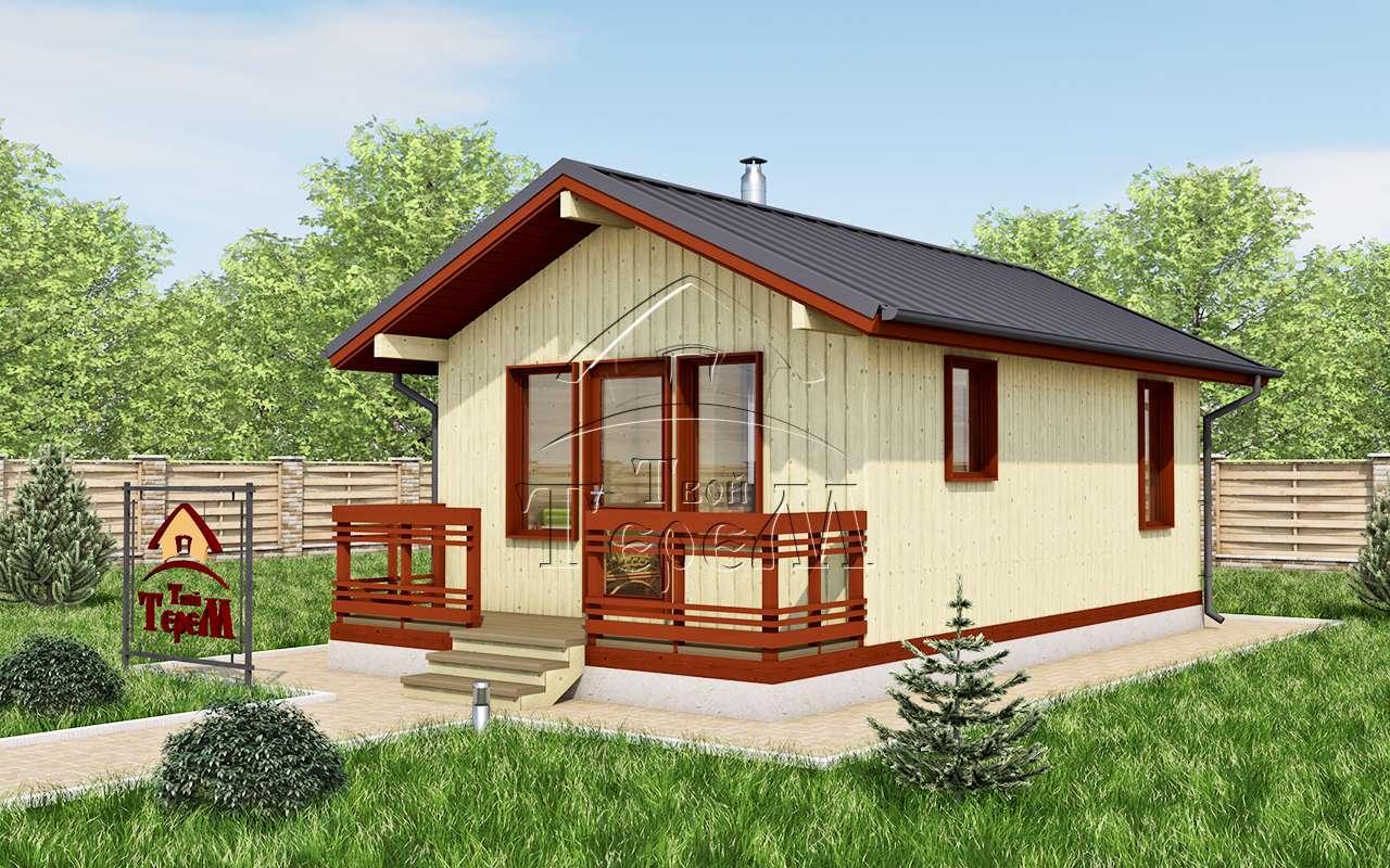 проект дома 4 на 8 двухэтажный